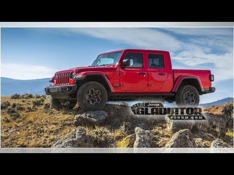 2020 Jeep Gladiator leaked | CAR NEWS 2019