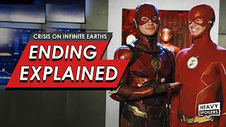 Crisis On Infinite Earths: Episode 4 & 5 Breakdown + Ending Explained | DC & Ezra Miller Flash Cameo
