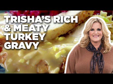 Trisha's Rich and Meaty Turkey Gravy   Food Network