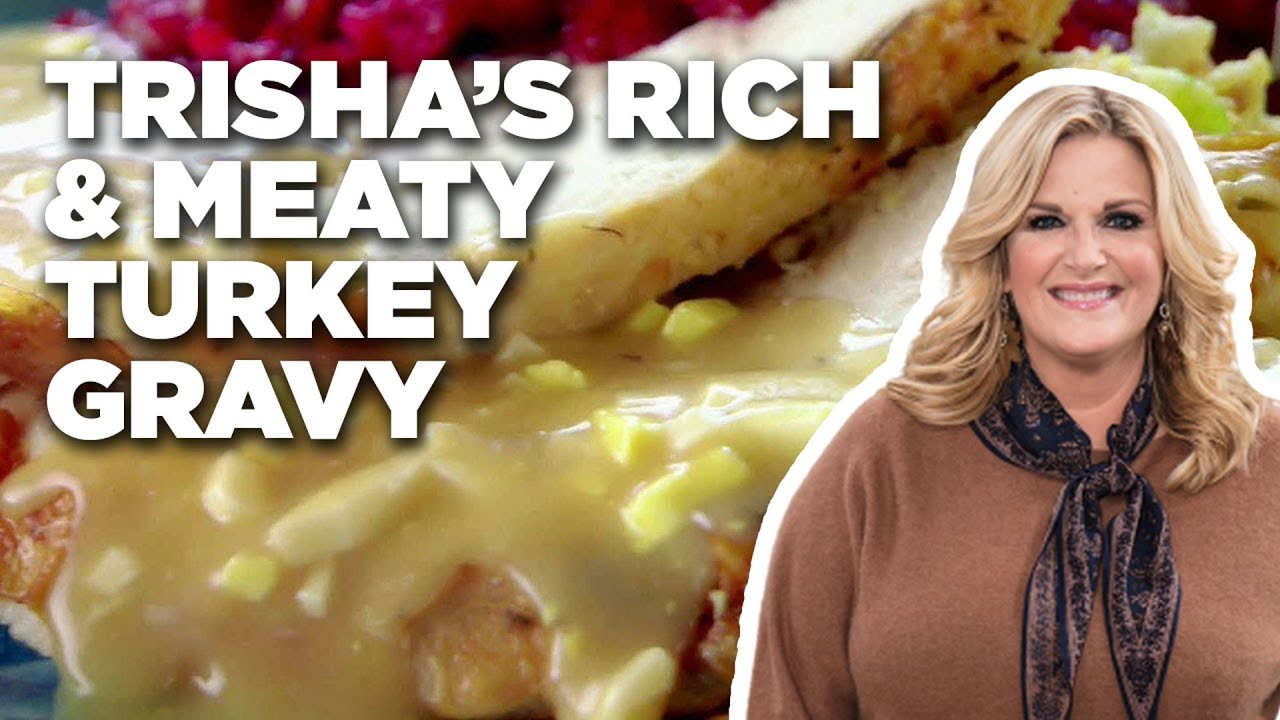 Trishas rich and meaty turkey gravy food network youtube trishas rich and meaty turkey gravy food network forumfinder Choice Image