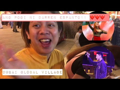 Morissette Amon, Darren Espanto Live in Dubai Global Village