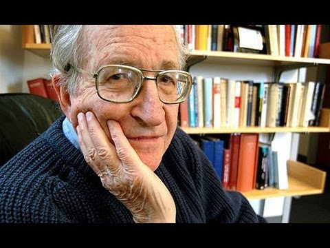 Noam Chomsky: Vote for the Lesser of Two Evils in a Swing State