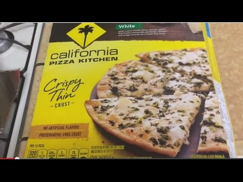 Frozen California Pizza Kitchenu0027s CRISPY THIN CRUST WHITE