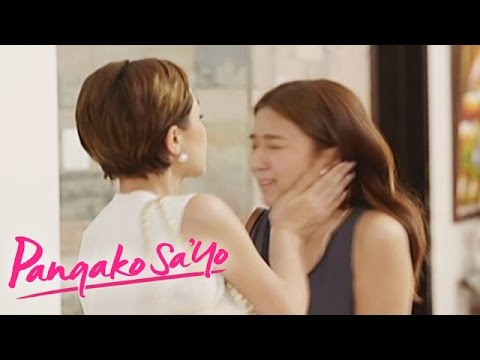 Pangako Sa'Yo: Amor slaps Yna: Due to anger about David's death, Amor slaps Yna.  Subscribe to the ABS-CBN Entertainment channel! - http://bit.ly/ABSCBNOnline  Watch the full episodes of Pangako Sa'Yo on TFC.TV  http://bit.ly/PangakoSaYo-TFCTV and on IWANT.TV for Philippine viewers, click: http://bit.ly/PangakoSaYo-IWANTV  Visit our official website!  http://entertainment.abs-cbn.com/tv/home http://www.push.com.ph  Facebook: http://www.facebook.com/ABSCBNnetwork  Twitter:  https://twitter.com/ABSCBN https://twitter.com/abscbndotcom Instagram: http://instagram.com/abscbnonline