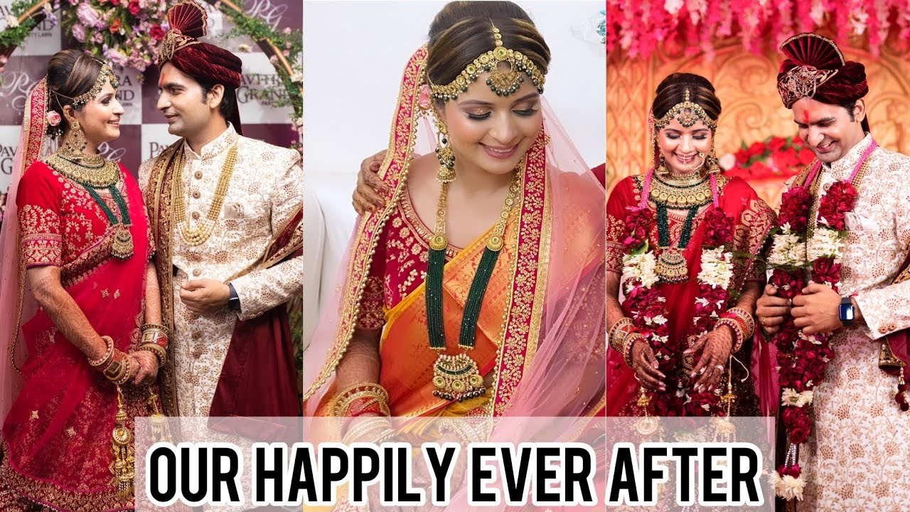 Our Wedding Video || Married After Being Together For 8 Years || Ankita & Chandan ❤️