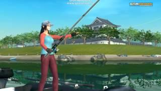 Fish Hunt 世界を釣れ!  オープンβテスト 琵琶湖.mp4