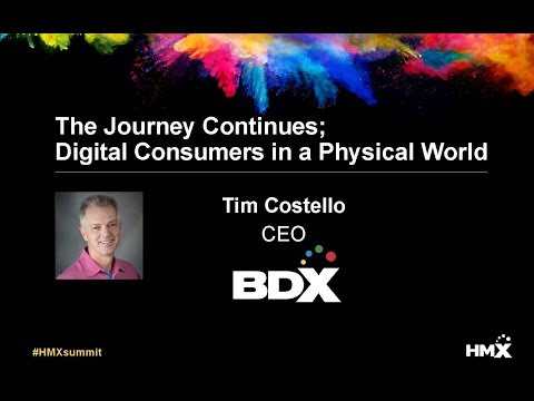 HMX Summit 2018 Keynote - Tim Costello