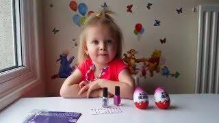 Киндер Сюрприз Видео Литл Пони Эльвира красит ногти  Май Литл Пони Kinder Surprise My Little Pony