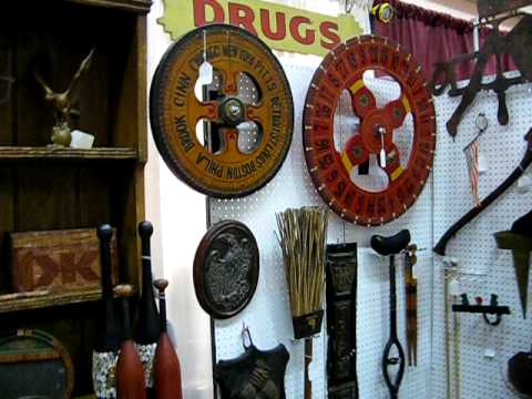Antique Show booth Renningers Philadelphia