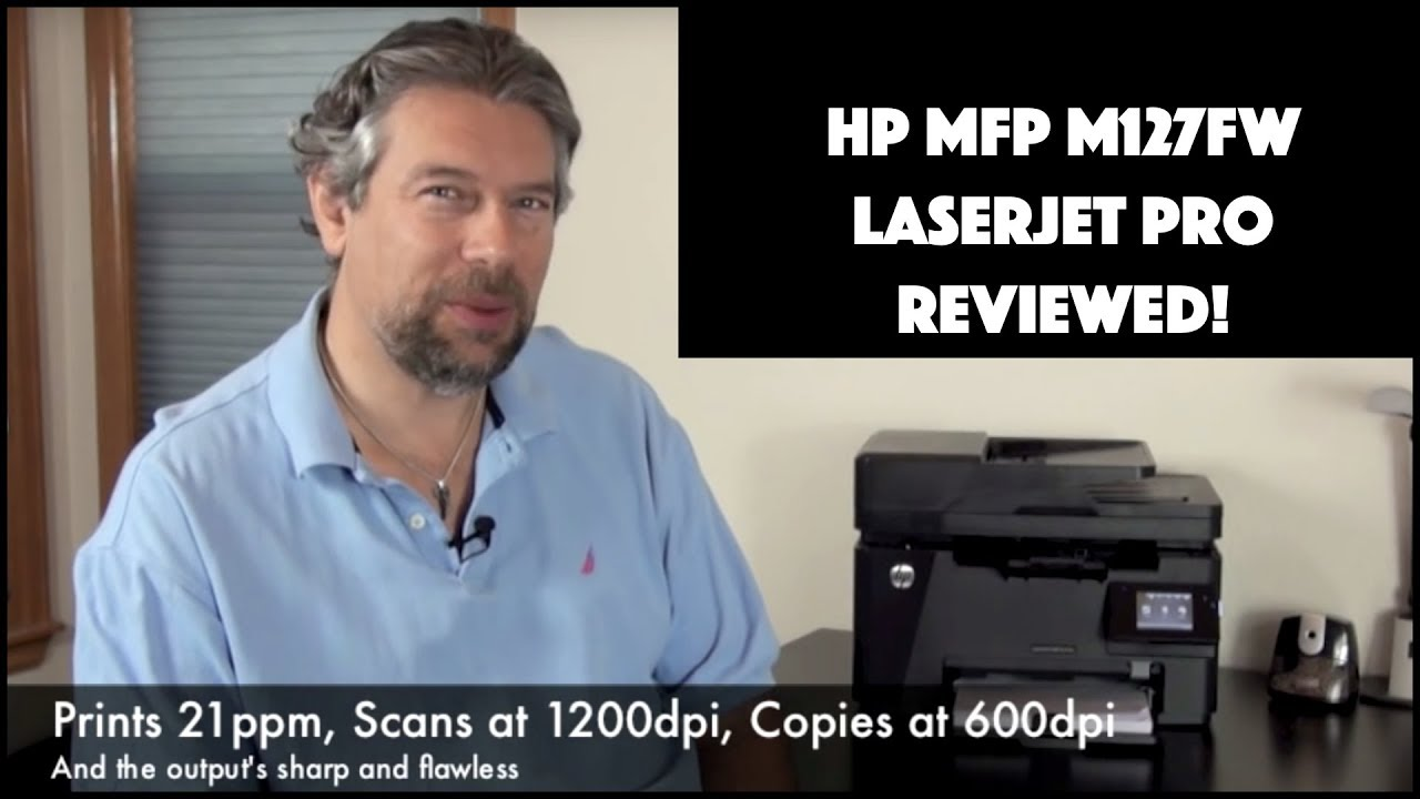 Hp Mfp M127fw Printer Review Youtube