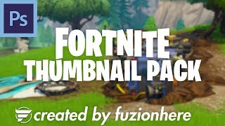 FREE! Fortnite Thumbnail Pack *2019!* (PHOTOSHOP)