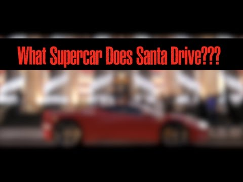 Which Supercar does Father Christmas drive?
