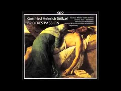 Gottfried Heinrich Stölzel - Der Für Die Sünde Der Welt Gemarterte Und Sterbende Christus