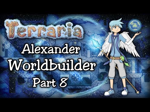 Terraria 1.3.5 Expert WORLDBUILDER Let's Play Part 8 | OLD ONE'S ARMY & EATER OF WORLDS!