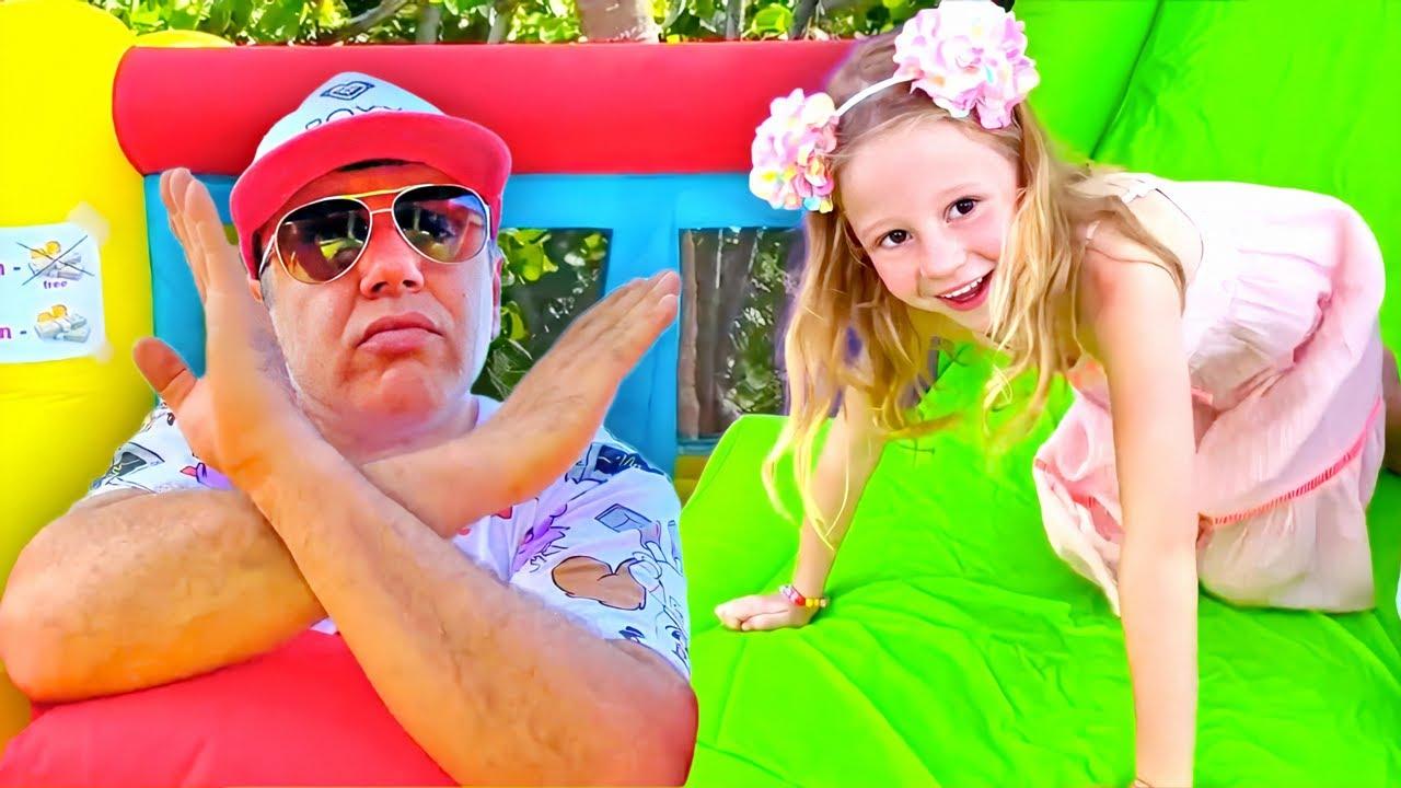 Download Nastya quer pular em um novo trampolim
