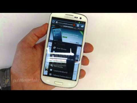Samsung Galaxy S - Android Market & YouTube