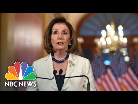Pelosi On Impeachment: 'The President Leaves Us No Choice But To Act' | NBC News