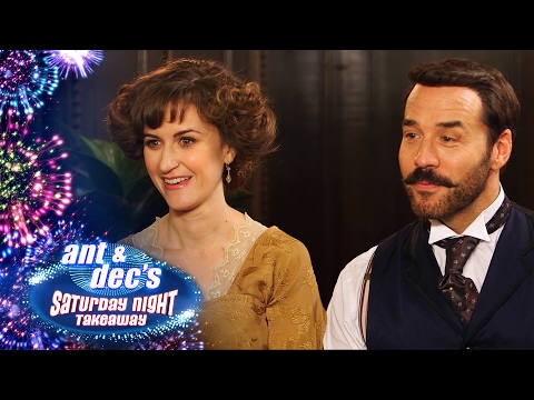 Little Ant & Dec Interview Mr Selfridge & Katherine Kelly - Saturday Night Takeaway