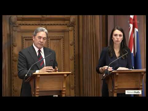 Jacinda Ardern and Winston Peters make their political marriage official | Newshub