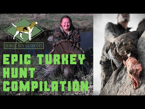 EPIC Turkey Hunt Compilation | Season D Wisconsin 2020 |