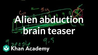 Alien abduction brain teaser | Puzzles | Math for fun and glory | Khan Academy