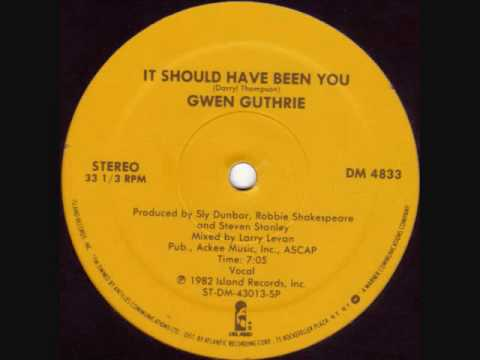 Gwen Guthrie - It Sould Have Been You (US Remix) HQsound