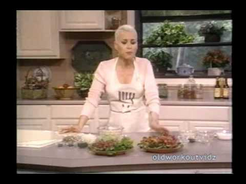 Susan Powter Talk Show  1994 How to Make Low Fat Fried Chicken Sweet Potatoes  More  YouTube