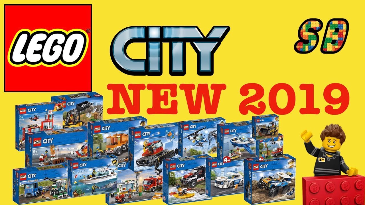 all new lego city 2019 sets winter wave youtube. Black Bedroom Furniture Sets. Home Design Ideas