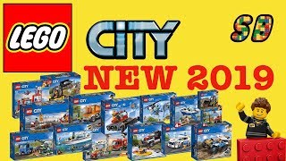 ALL NEW LEGO CITY 2019 Sets Winter wave