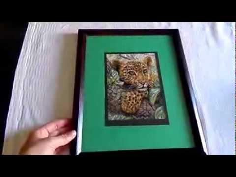 как сделать рамку для картины своими руками в домашних условиях