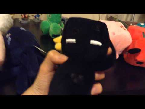 REVIEWING almost ALL THE MINECRAFT PLUSHIES!!! PLUSH STEVE???