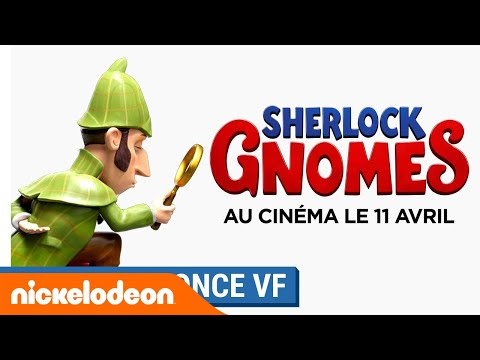 SHERLOCK GNOMES | Bande-annonce (VF) | Au cinéma le 11 avril 2018 | Nickelodeon France