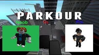 Noob vs Pro (advanced Tutorial edtion) | Parkour Roblox