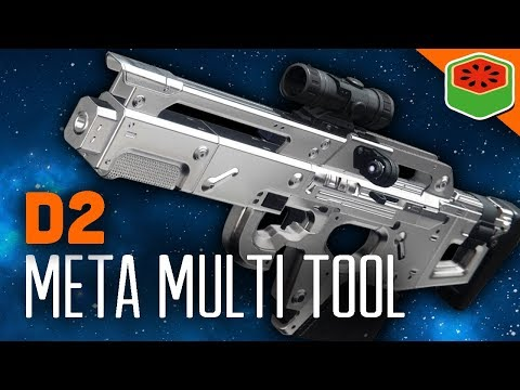 META MULTI TOOL - EXOTIC SCOUT RIFLE | Destiny 2 Gameplay