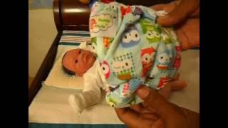 Changing Silicone baby boy ~T-shirt & Diaper Tuesday~