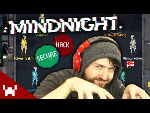 WHO IS THE SECRET HACKER? | Mindnight (Deception Game) w/ Ze, GaLm, Ohm, JD, & Stabbies