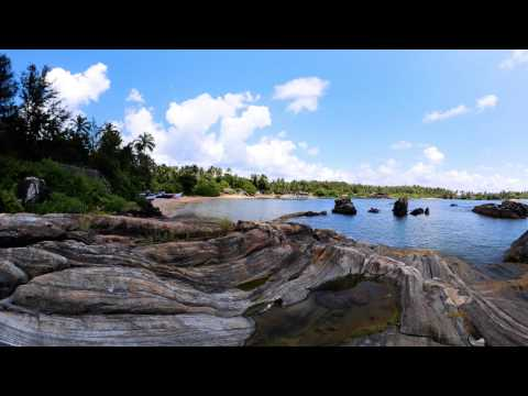 Kolumb Beach | 360 degree Virtual Tour Video | Goa in Virual Reality | 4K