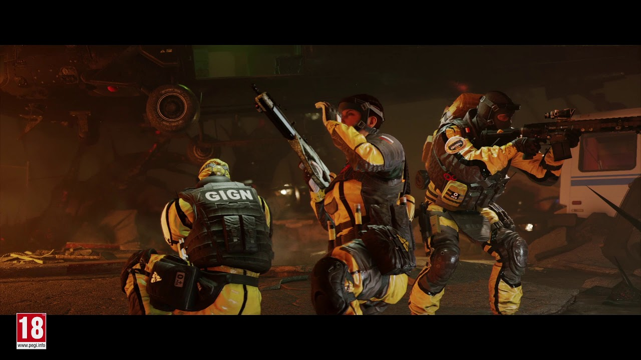 Rainbow Six: Siege Debuts Outbreak Mode Gameplay, Vows To