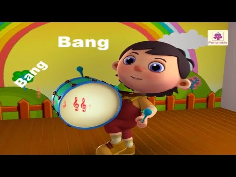 My Band Song |  | 3D English Nursery Rhyme For Children | Periwinkle | Rhyme #25