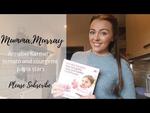 Cooking Annabel Karmel Baby Weaning Recipe | Mumma.murray | Vlog 7