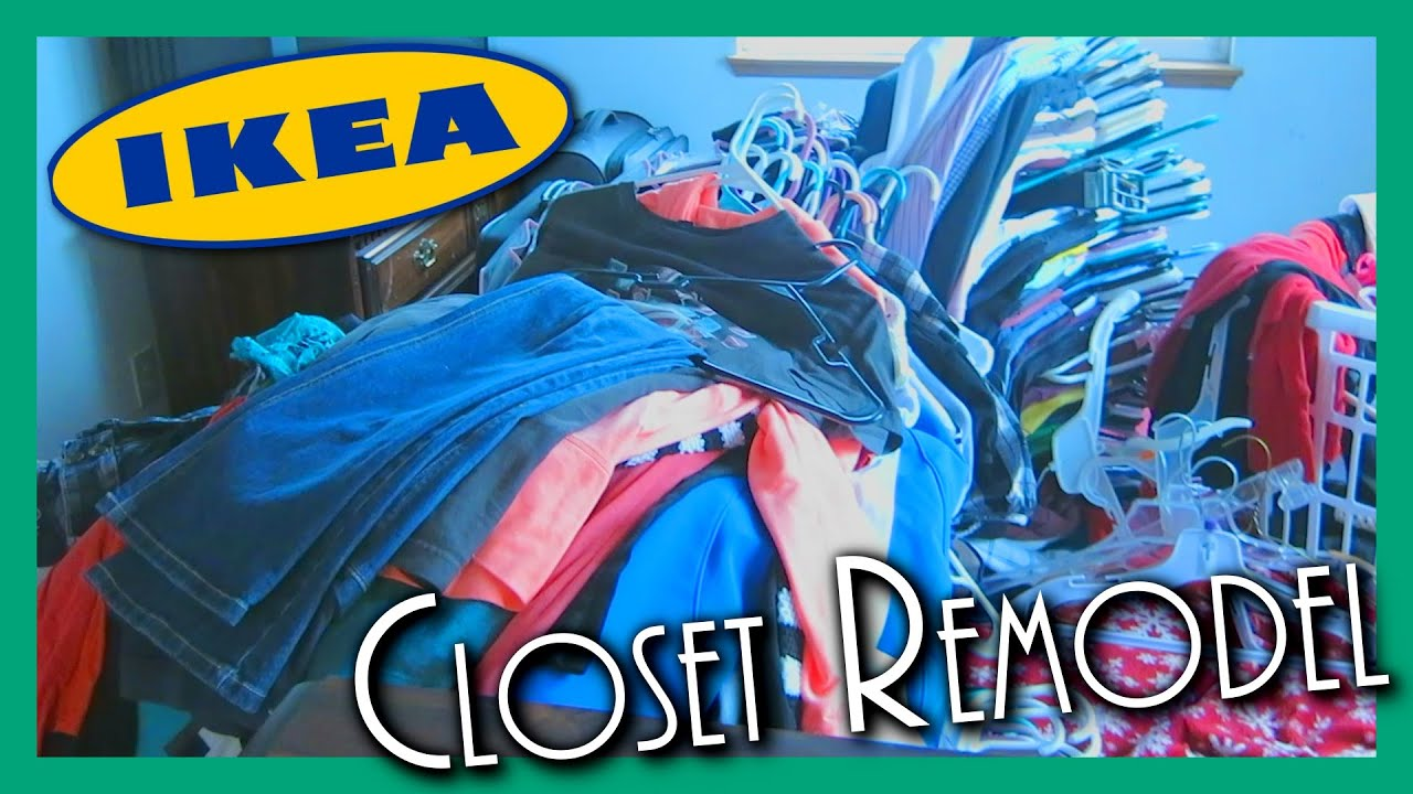 HOW TO BUILD IKEA WALK IN CLOSET   DIY HOME REMODEL   YouTube