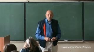 Лекция студентам-кинологам Вятской сельскохозяйственной академии (фрагмент)