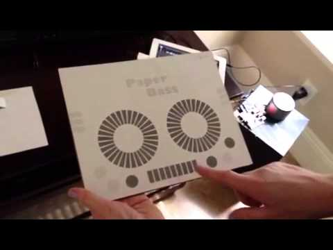 Extraordinary PRINTED technology turns paper into a fully functioning DJ Mixer!