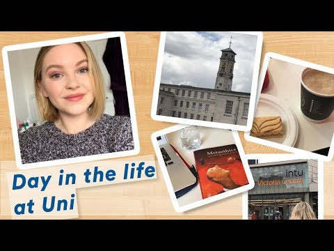 Vlog: A day in the life at NOTTINGHAM UNI