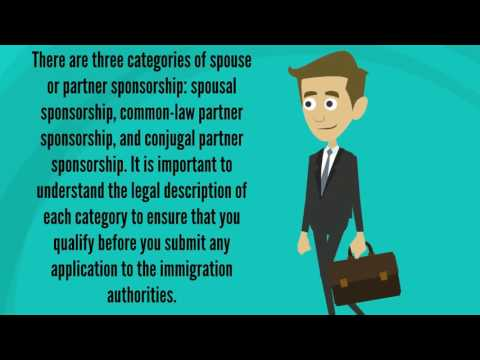 Types of Partner Sponsorships - Matthew Jeffery, Toronto Immigration Lawyer
