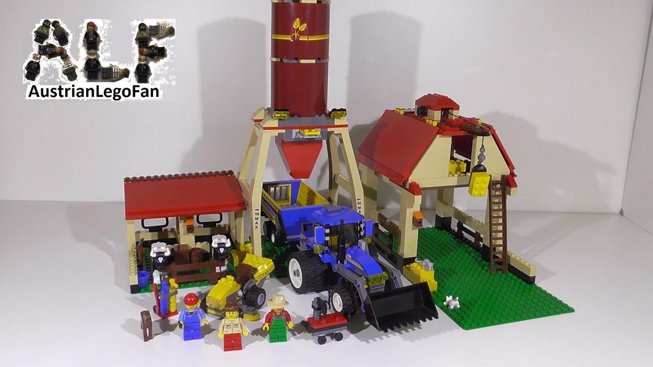Lego City 7637 Farm Bauernhof Lego Speed Build Review Youtube