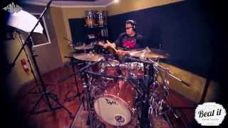 Beat it! Ep 3: Ariana Grande PROBLEM featuring Iggy Azalea, Justin Miles Hendrix Drums Thumbnail