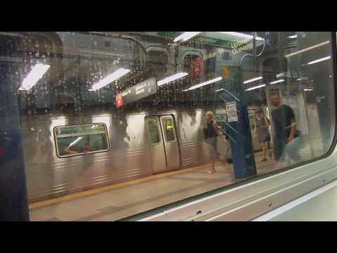A Ride on the inbound NYC Subway E Train: W 4th Street to the World Trade Center