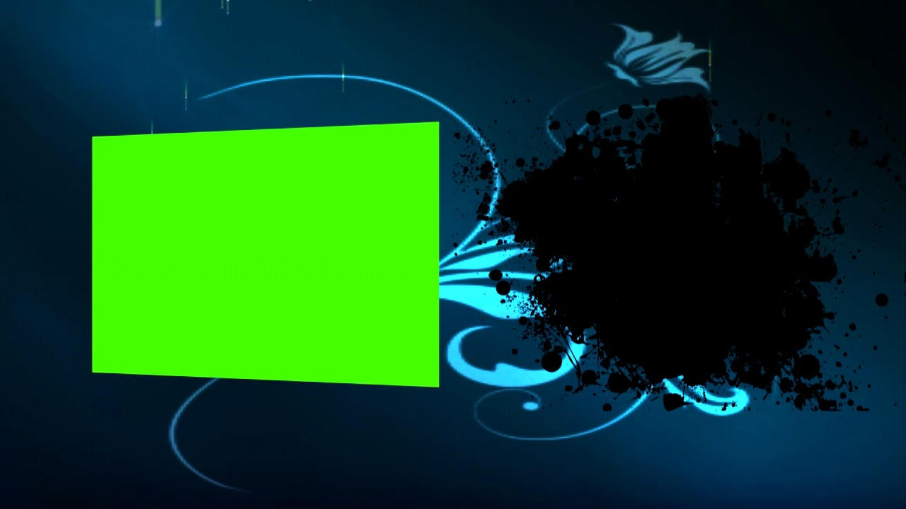 Green Screen Intro Template And Text قالب تفريغ شاشة خضراء جاهز للمونتاج Youtube