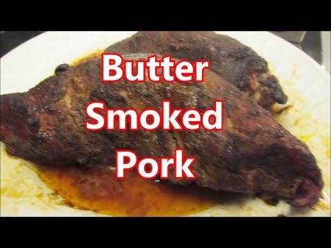 Butter smoked pork tenders